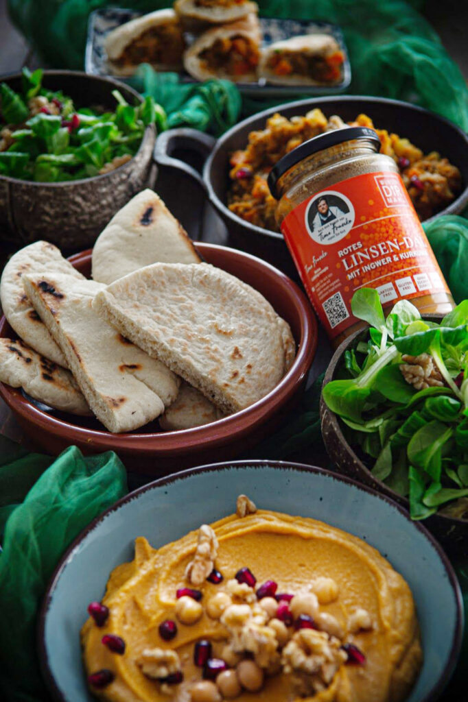 Hummus-Linsenaufstrich
